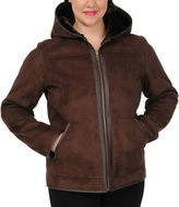 JCPenney Excelled Leather Excelled Faux-Shearling Jacket