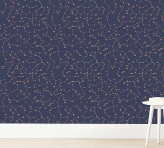Pottery Barn Kids Tempaper Constellations Wallpaper