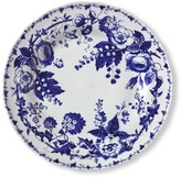 French Blue Bouquet Salad Plates, Set of 4, Floral