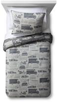 Circo Two-Tone Traffic Comforter Set - Gray - Pillowfort