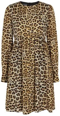 Boutique Moschino Leopard-print Mini Dress