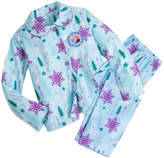 Disney Anna and Elsa Flannel PJ Set for Girls