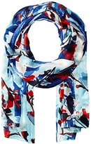 Vince Camuto Women's Foliage and Blooms Wrap