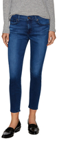 7 For All Mankind Gwenevere Cotton Faded Ankle Jean