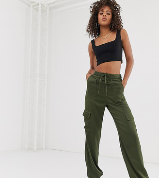 Asos DESIGN Tall utility pants with pocket detail