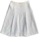 agnès b. Beige Wool Skirt for Women