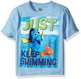Disney Little Boys' Toddler Finding Dory Short Sleeve T-Shirt