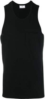 Ami Paris Tank top with chest pocket