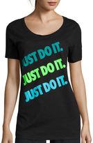 Nike Short-Sleeve Just Do It Print Tee