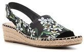 Franco Sarto Leanne Floral Wedge Slingbacks