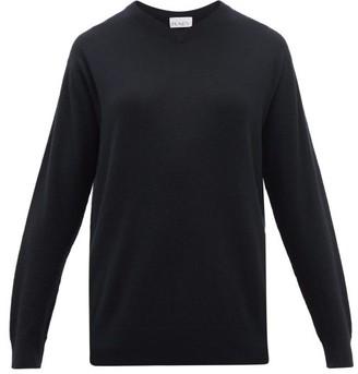 Raey V-neck Cashmere Sweater - Navy