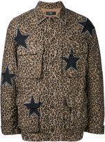 Amiri - star print shirt jacket - men - Cotton - S