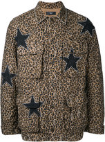 Amiri - star print shirt jacket - men - Cotton - XS