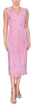 Rachel Roy Wrap-Style Midi Dress