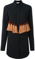 Au Jour Le Jour tassel front detail shirt