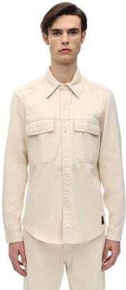 Ami Alexandre Mattiussi Cotton Twill Shirt Jacket
