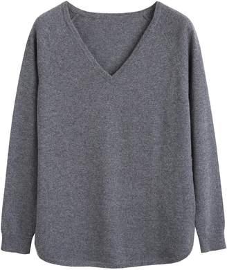 Parker Chinti & Grey Cashmere V-neck Sweater