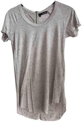 The Kooples Grey Silk Top for Women