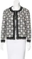 Chanel Sequined Fringe-Trimmed Cardigan