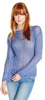 C&C California Women's Novelty Crop Sweater