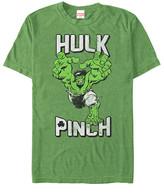 Fifth Sun Men's Tee Shirts LIME - Hulk Lime Heather 'Hulk Pinch' Tee - Men
