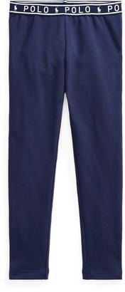 Ralph Lauren Logo-Waist Jersey Legging