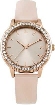 Lipsy Womens Analogue Classic Quartz Watch with PU Strap LP565