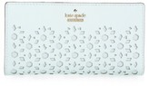 Kate Spade Women's Cameron Street - Stacy Perforated Leather Wallet - Blue