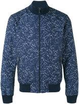 MICHAEL Michael Kors palm print bomber jacket - men - Polyester - S