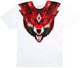 Marcelo Burlon County of Milan Fox-Graphic Jersey T-Shirt-WHITE