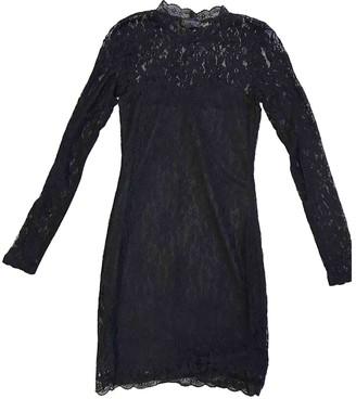 Topshop Tophop Black Lace Dress for Women