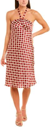 Issue New York Silk Midi Dress
