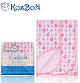 """Kosbon Extra Large (40"""" x 30"""") Infant Baby Deluxe Flannel And Bamboo Fiber Cotton Change Pad,Waterproof Cartoon Pattern Diaper Changing Pad For Home And Travel"""