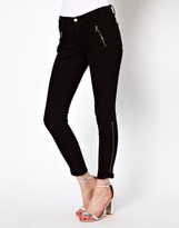 J Brand Carey Ankle Zip Skinny Jeans