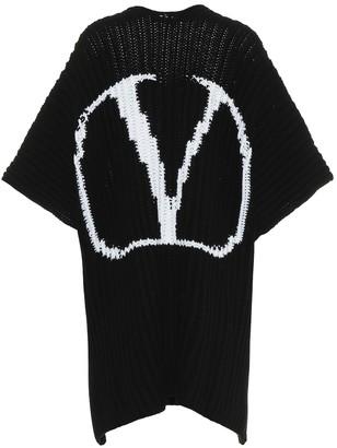 Valentino VLOGO wool cape