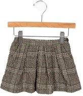 Bonpoint Girls' Plaid A-Line Skirt