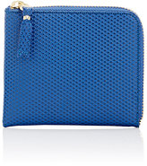 Comme des Garcons Men's Half-Zip Wallet-NAVY