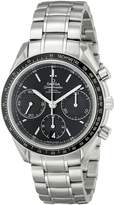 Omega Men's O32630405001001 Speed master Analog Display Automatic Self Wind Silver Watch