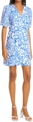 Tanya Taylor Augustine Print Sheath Dress