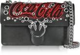 Pinko Love Braccialetto Black Leather Shoulder Bag