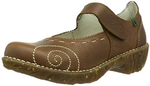 El Naturalista Women's Iggdrasil Mary Jane Flat