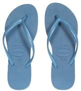 Havaianas Slim Flatform Sandal (Steel Blue) Women's Shoes