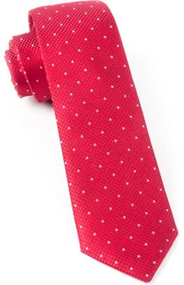 Tie Bar Showtime Geo Red Tie