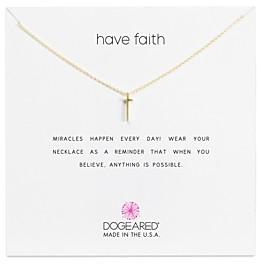 Dogeared Have Faith Necklace, 16