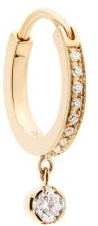 Sophie Bille Brahe Daisy Grand Diamond & 18kt Gold Single Earring - Womens - Diamond