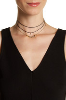 Stephan & Co 3-Row Beaded Choker