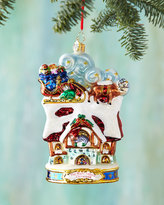 Christopher Radko Up On the House Top Christmas Ornament