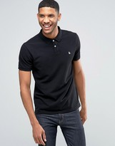 Jack Wills Polo Shirt In Black