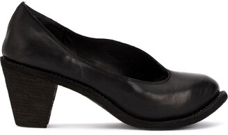 Guidi Chunky-Heel Pumps