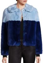 Alice + Olivia Damaris Faux Fur Jacket